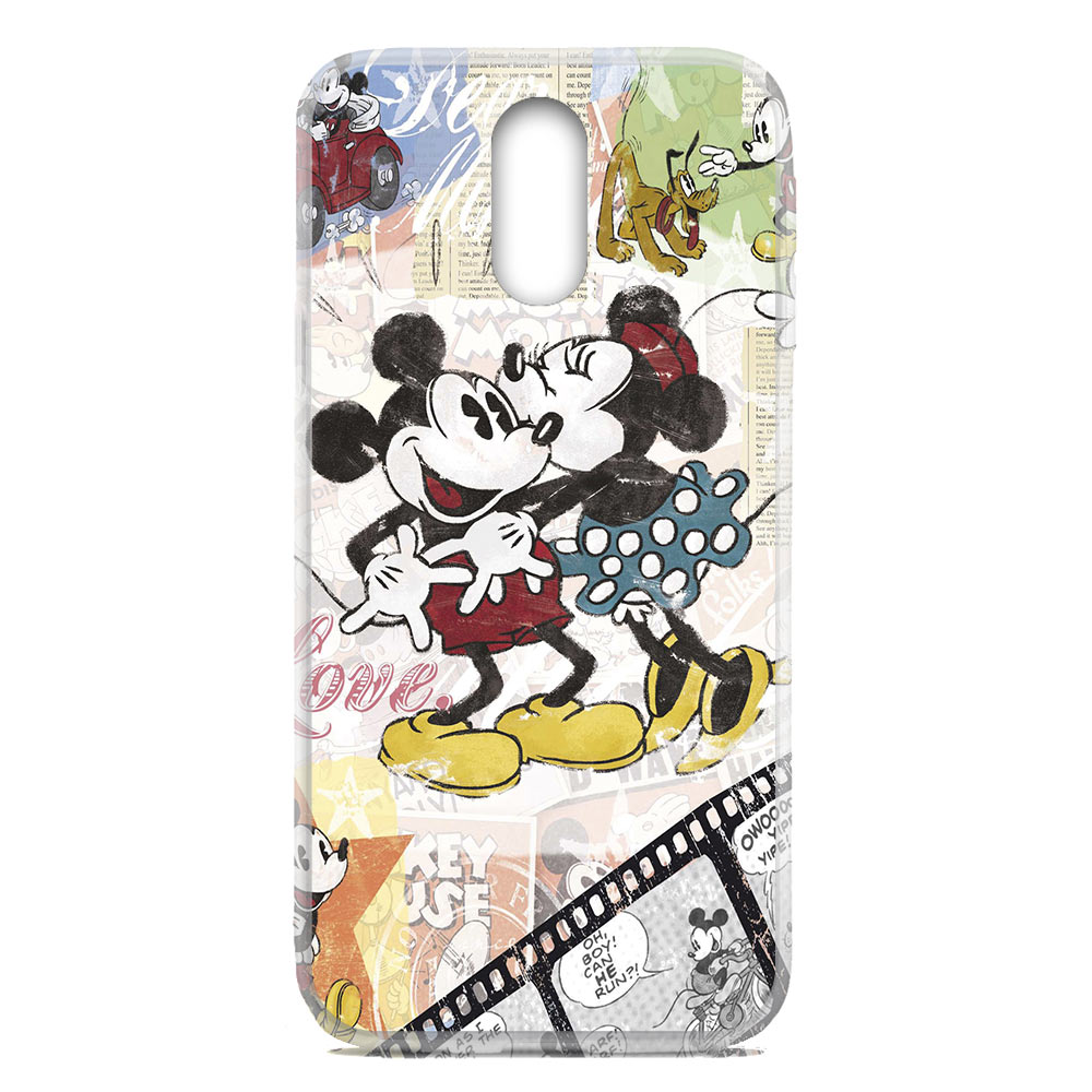 For OnePlus 6T / One+ 6T Flexible TPU Case Cover Mickey