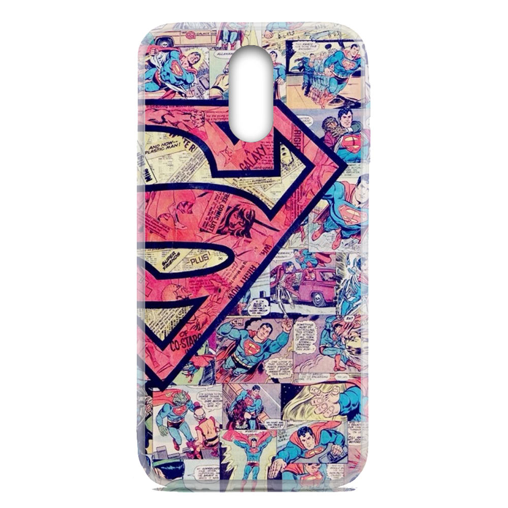 For OnePlus 6T / One+ 6T Flexible TPU Case Cover Superman